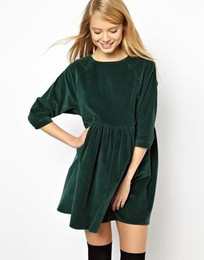 grön tre fjärdedel skater klänning overknee stövlar