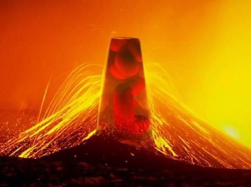 Har lavalampor och verklig lava samma egenskaper