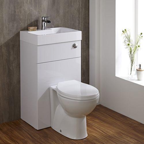 40 Snygga toaletthandfatkombinationer för små badrum - DigsDi