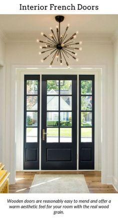 Franska dörrar.  Lägg till lite klass i ditt hus genom att använda internt.