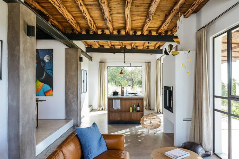 Mysigt Ibiza-hus med traditionell estetik - DigsDi