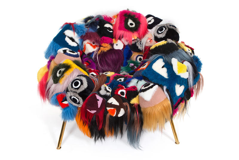 """Campana Brothers x FENDI """"The Armchair of Thousand Eyes"""" med """"Bag."""