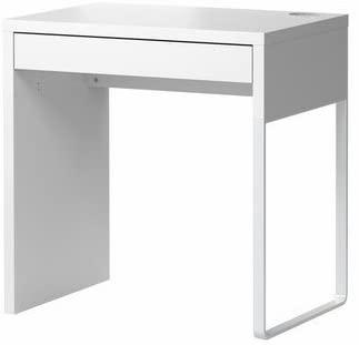 Ikea MICKE-skrivbord, vit-73x50 cm: Amazon.co.uk: Kitchen & Ho