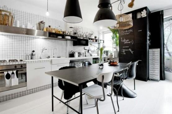 57 Awesome Maskuline Kitchen Designs - DigsDi