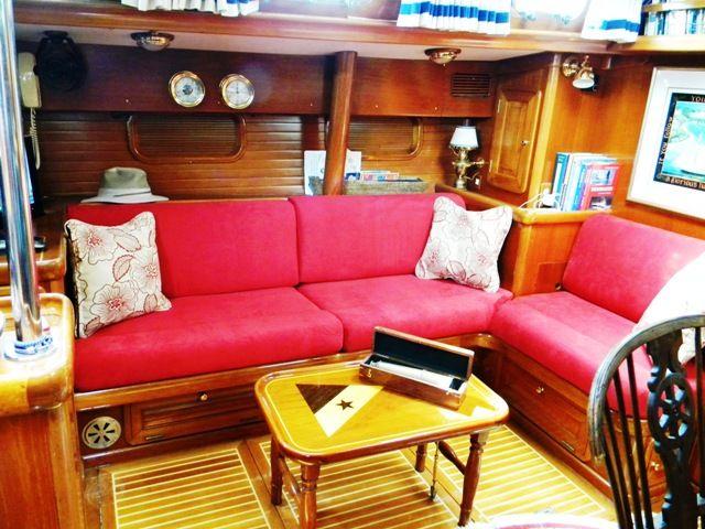 Tyg för kuddar för segelbåt    Båtkuddar och interiörer    Prydnadskudde .