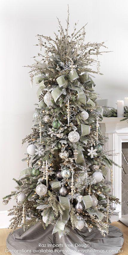 Christmas-Tree-Themes.jpg 428 × 849 pixlar    Eleganta julgranar.