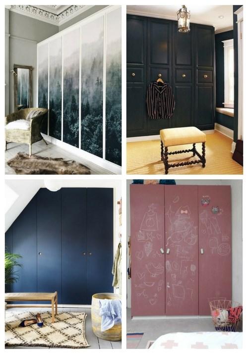 24 IKEA Pax garderobshackar |  ComfyDwelling.c