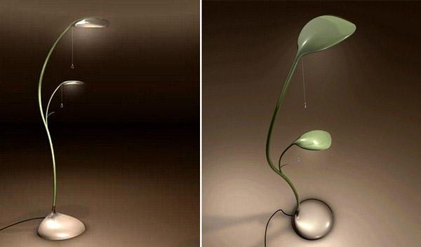 Graciösa bladlampor, naturinspirerad samtida belysningsarmatur
