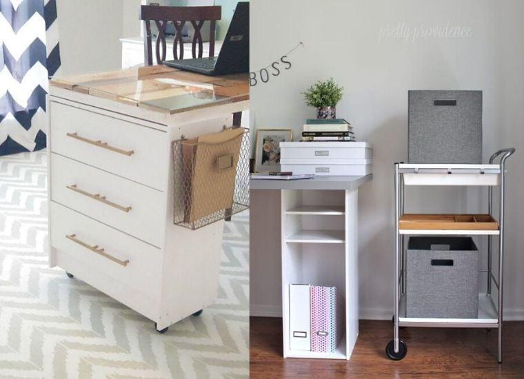 15 Super Clever IKEA skrivbordshackar - Craftsy Hac