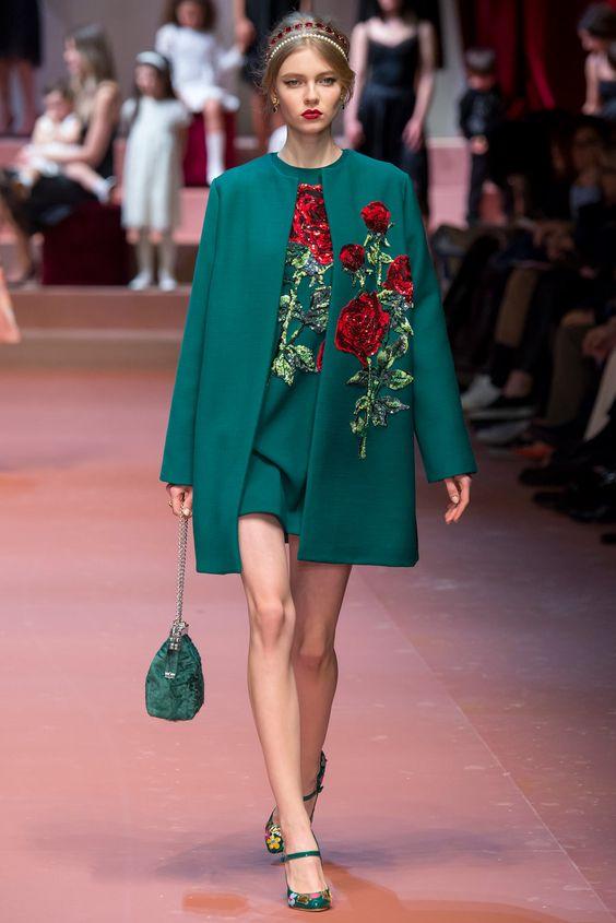 smaragdgrön tailcoat