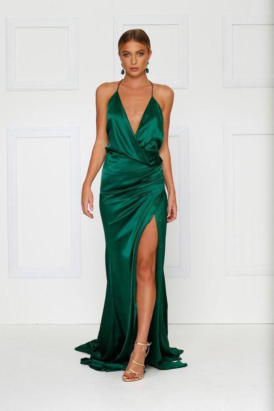 smaragdgrön klädspår