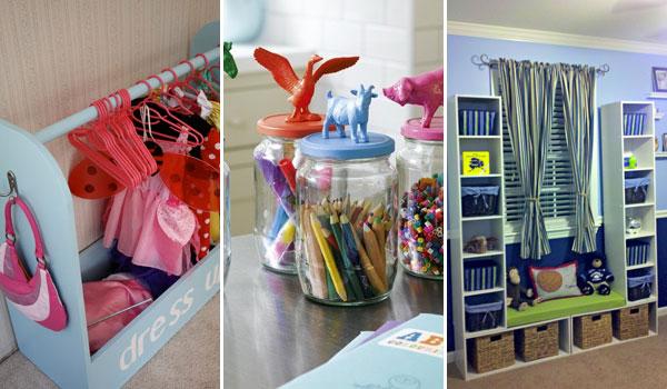 28 geniala idéer och hack för att organisera ditt barns rum - fantastiskt.