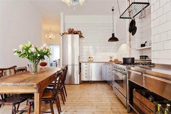 Industriell och vintage köksdesign i Stockholm - DigsDi