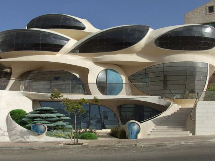 Biomorphic House av Pavie Architects & Design |  Arkitektur.