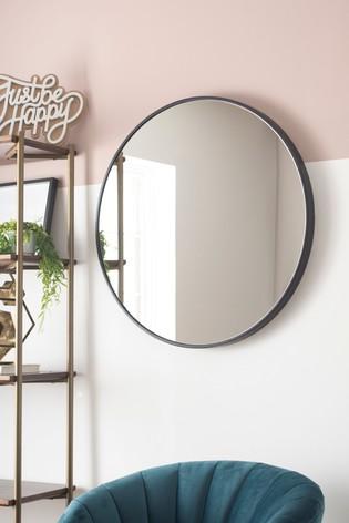 Köp Large Round Mirror från Next U