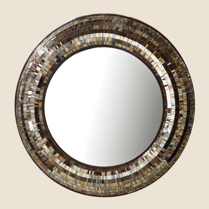 Dekorativa speglar    Stora väggspeglar    Rund spegel    Unik .