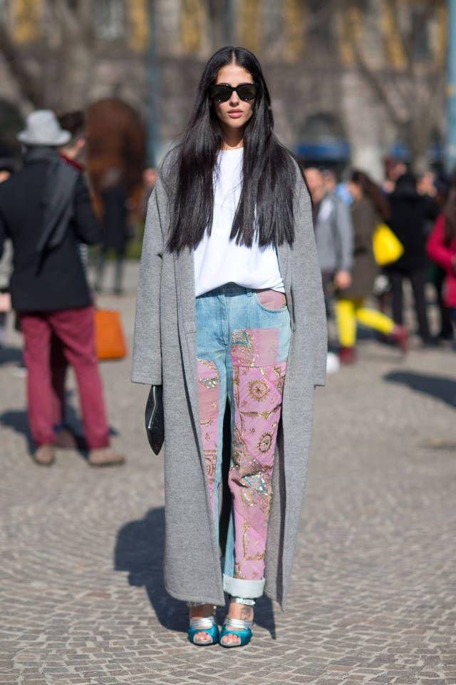 lappade jeans rosa lapptäcke