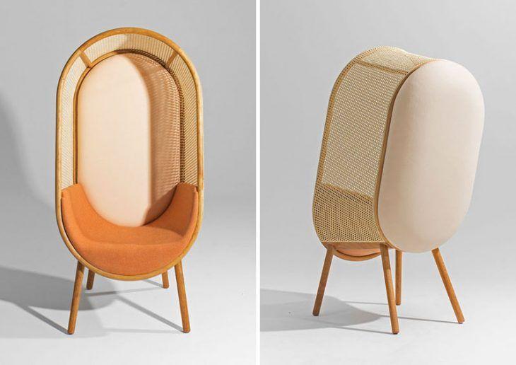 Cocoon Lounge Chair av Kevin Hviid och Martin Kechayas 2020.