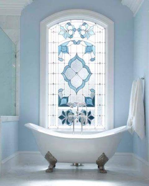 Dekorationsidéer för målat glas för hem- och inomhusinredning.