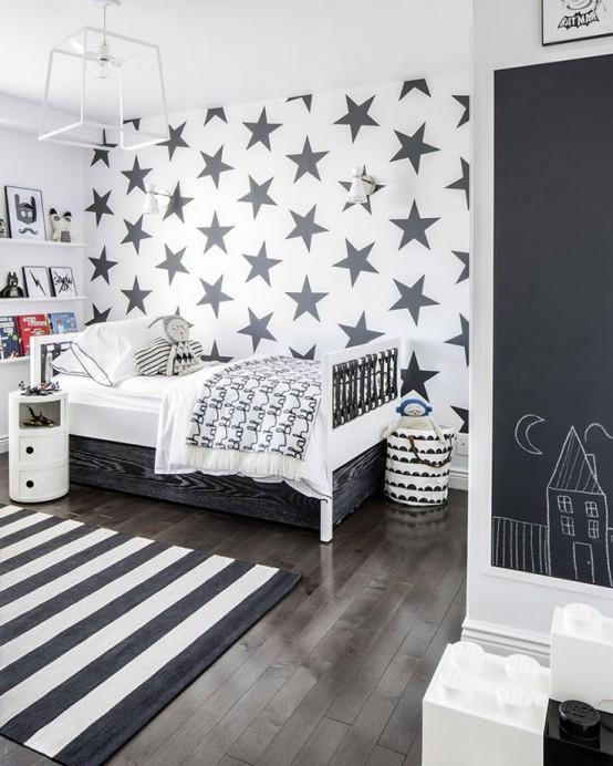 31 Drömmande och mjuka skandinaviska barnrum Inredningsidéer - DigsDi