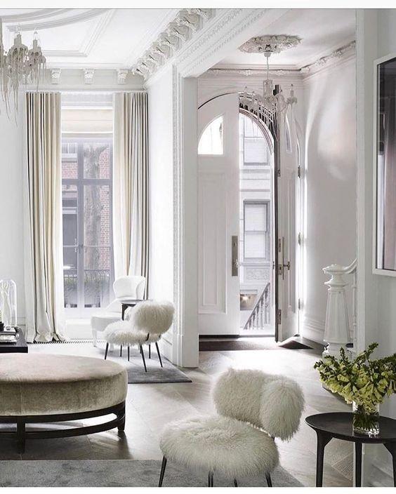 Hur man lägger till intresse för ett vitt rum: 25 idéer  Interiör, hem.