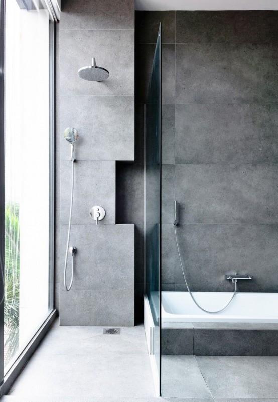 37 snygga sätt att använda betong i ditt badrum - DigsDi