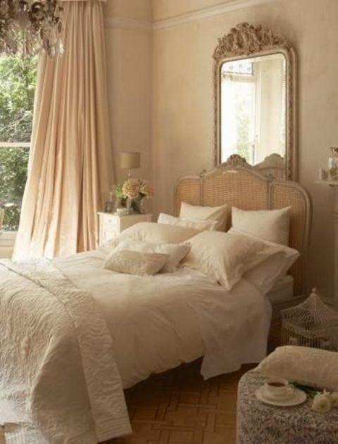 Romantiska och vackra Provence Idéer för sovrumsinredning |  Sovrum.