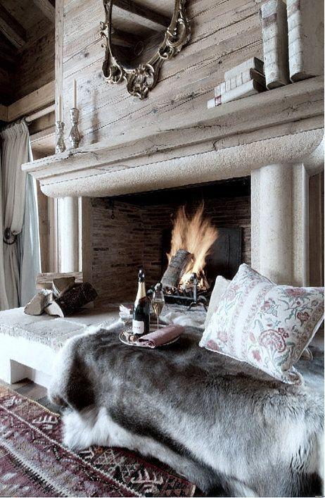 28 coola sätt att trivas i ditt vardagsrum för vintern |  Openhaard.