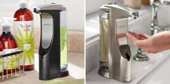 Cool Sensor Tvålpump för kök och badrum från Simplehuman.