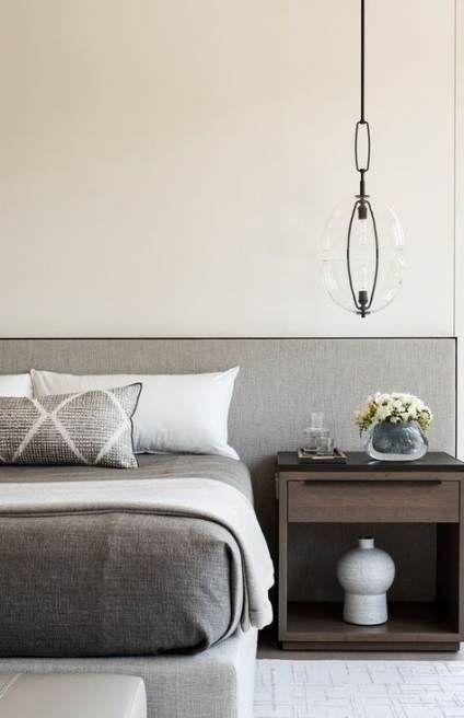52+ Trendiga väggfärg sovrumgrå huvudgavlar # vägg # sovrum.