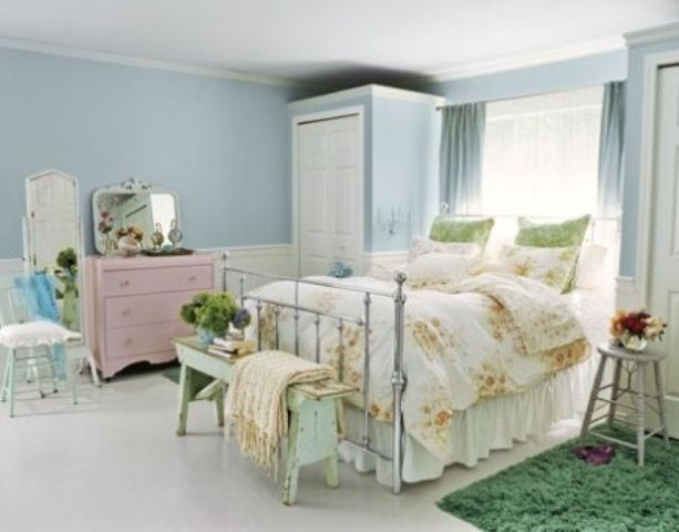 44 Underbara vårinspirerade sovrumsdesignidéer    Liten.