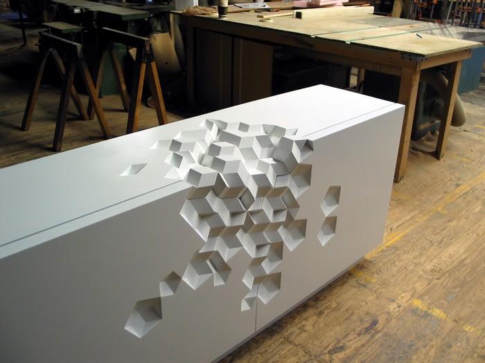 Geometriskt formade möbler av Aranda / Lasch -, Insight, - M