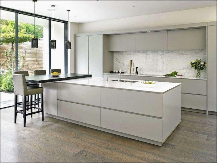 Fantastiska minimalistiska köksdesignidéer 25    Minimalistiskt kök.
