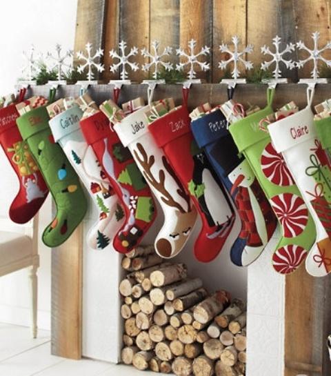 40 julstrumpor och idéer att använda dem för inredning - DigsDi