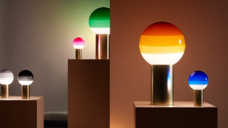 Doppljus med trendig färgblockering - DigsDi