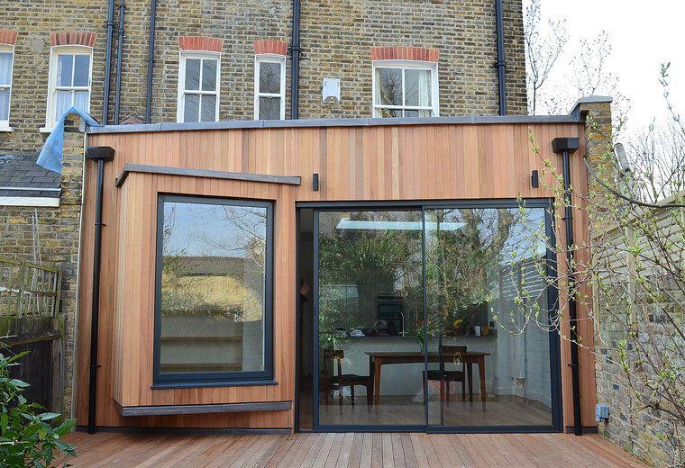 Arkitekter som specialiserat sig på design med låg energi    Husförlängning.