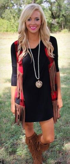 brun halsduk och knähöga scarf stövlar