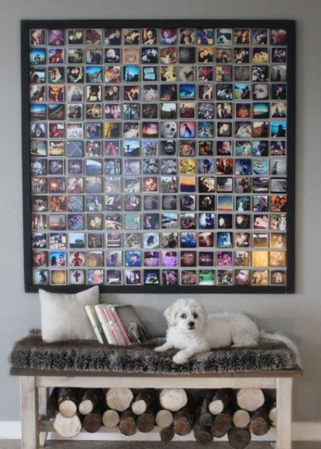 75 kreativa sätt att visa dina foton på väggarna - DigsDi