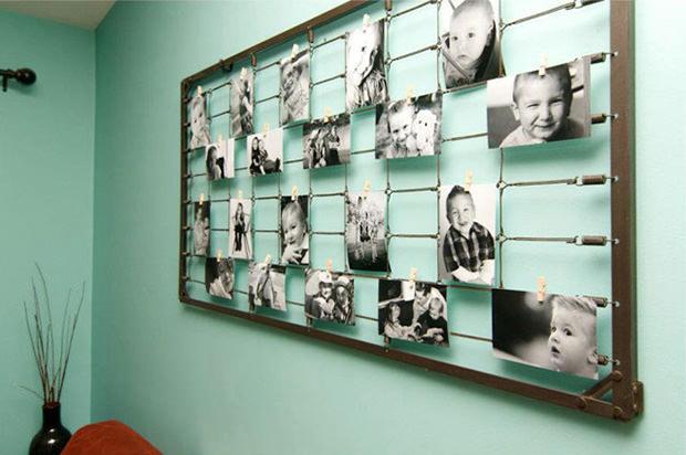 DIY Photography Wall Art från Baby Crib Sprin