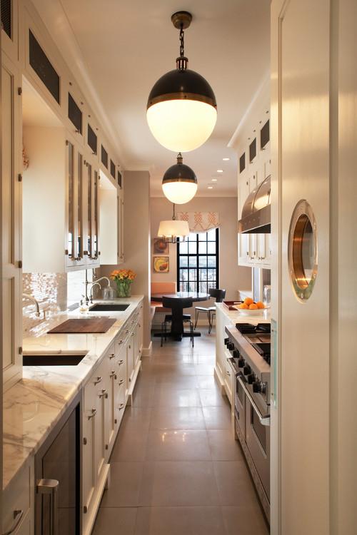 För- och nackdelarna med kökskök - min idealiska ho