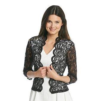 svart spets axelryck vit v-ringad veckad skridsko klänning