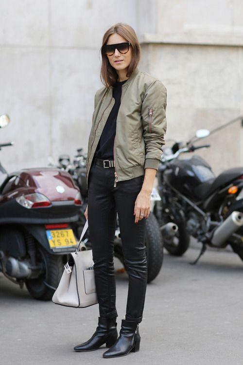 Parisienne khaki jacka