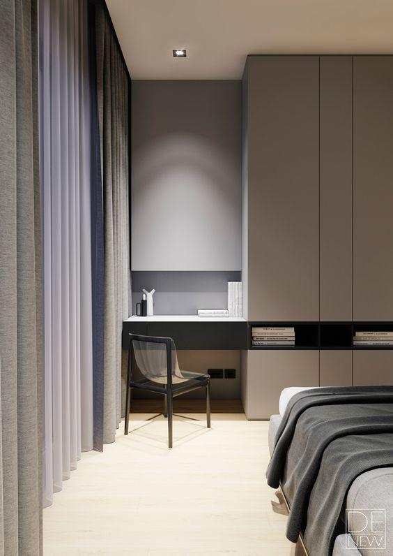 27 coola sovrum och arbetsytor i ett |  Slaapkamer interieur.