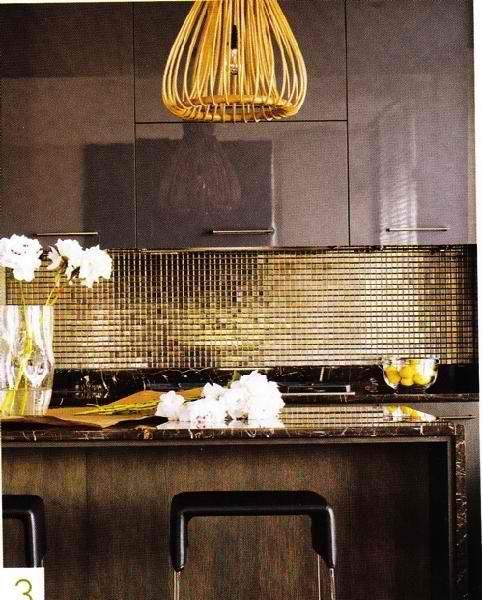 35 iögonfallande metalliska detaljer för din heminredning - DigsDi