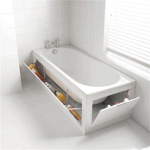 73 Praktiska badrumsförvaringsidéer |  DigsDigs |  Litet badrum.