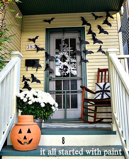 Halloween ytterdörr Id