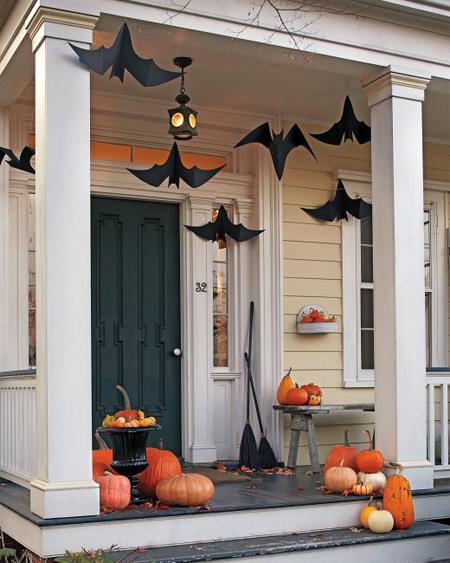 10 idéer för en spökande Halloween-entré