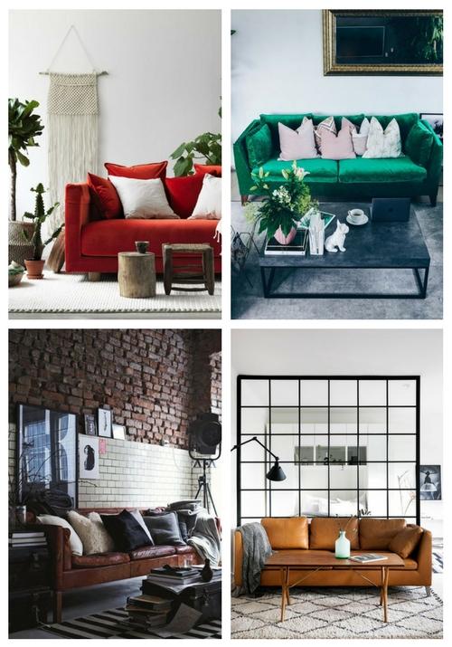21 sätt att införliva IKEA Stockholm Soffa i ditt utrymme.