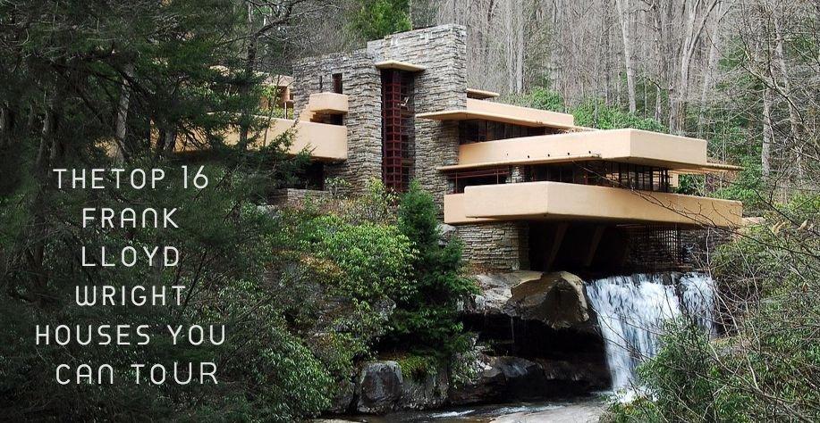 Topp 16 Frank Lloyd Wright-hus du kan turnera |  Incolle