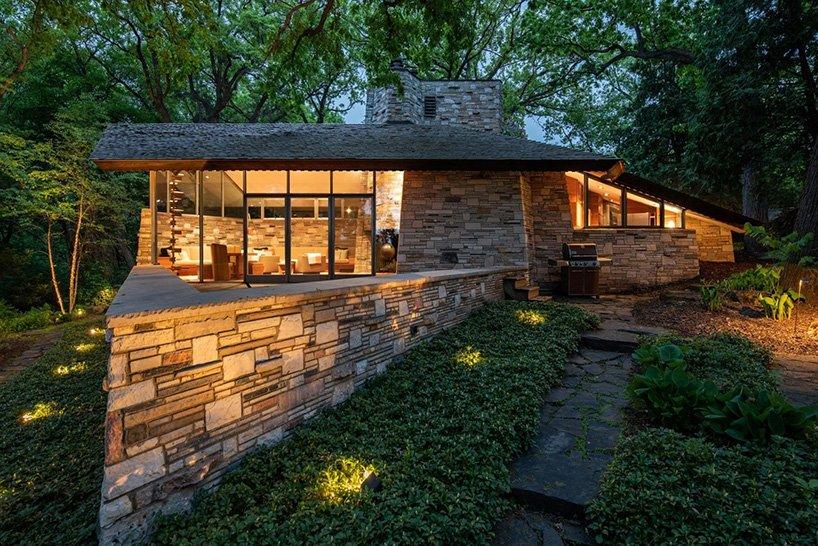 Frank Lloyd Wright's Neils House i Minneapolis till salu för 2,7 USD